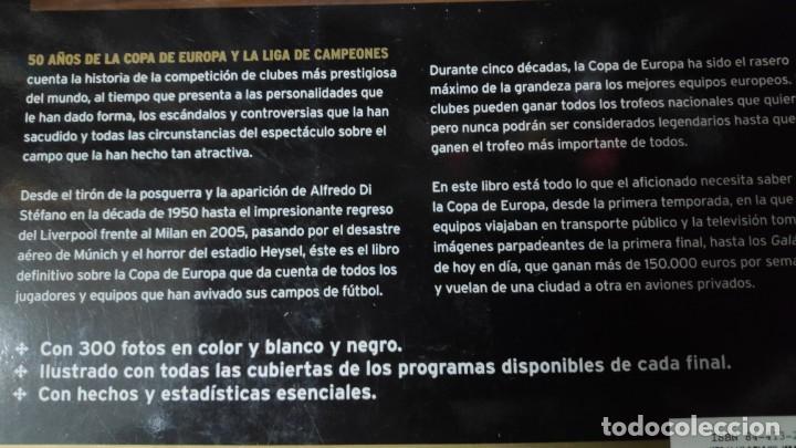 Libros: 50 AÑOS DE LA COPA DE EUROPA Y LA LIGA DE CAMPEONES - Foto 2 - 145711670