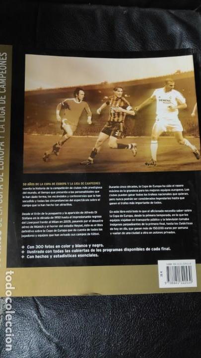 Libros: 50 AÑOS DE LA COPA DE EUROPA Y LA LIGA DE CAMPEONES - Foto 3 - 145711670