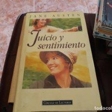 Libros: JUICIO Y SENTIMIENTO _ JANE AUSTEN. Lote 145967658