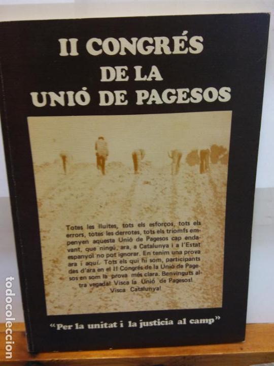 BJS.II CONGRES DE LA UNIO DE PAGESOS... (Libros Nuevos - Historia - Otros)