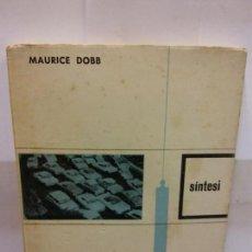 Libros: STQ.MAURICE DOBB.EL CAPITALISME, AHIR I AVUI.EDT, NOVA TERRA. . . Lote 146490598