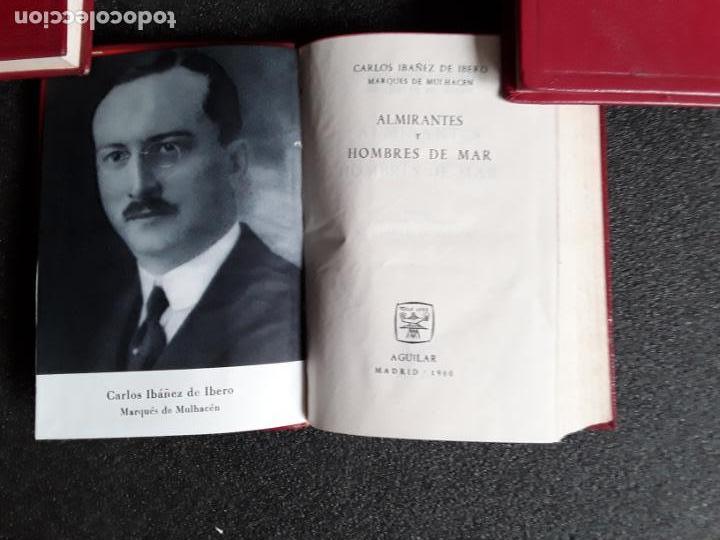 Libros: Ibañez de Ibero (Marqués de Mulhacén). Almirantes y hombres de mar. Biografías de grandes marineros. - Foto 3 - 146722842