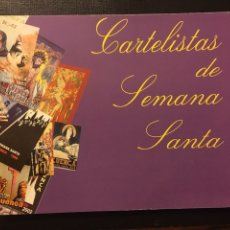 Libros: CARTELISTAS SEMANA SANTA DE CUENCA. Lote 146803256