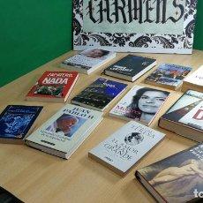 Libros: BOTITO LOTE DE 12 MARAVILLOSISIMOS LIBROS VARIADOS SUPER BARATOS. Lote 147724106