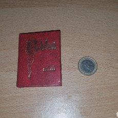 Libros: LA BIBLIA MINI - ANTIGUO TESTAMENTO. Lote 148975656