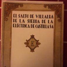 Libros: ELÉCTRICA DE CASTILLA VILLALBA DE LA SIERRA CUENCA. Lote 152054953