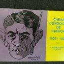 Libros: CARAS CONOCIDAS CUENCA 1925/29 PÉREZ COMPANS. Lote 150307502
