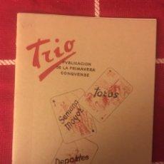 Libros: REVISTA TRIO (CUENCA 1954). Lote 150485228