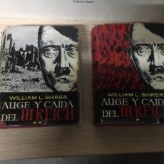 Libros: AUGUE Y CAIDA DEL TERCER REICH. Lote 151370780