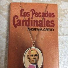 Libros: LIBRO LOS PECADOS CARDINALES. Lote 151392822