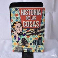 Libros: HISTORIA DE LAS COSAS. GONZÁLEZ GALLO, JORGE. Lote 152021430