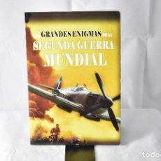 Libros: LOS GRANDES ENIGMAS DE LA SEGUNDA GUERRA MUNDIAL. BALBOA, JUSTINO. Lote 152275982