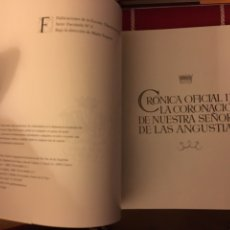 Libros: CORONACIÓN VIRGEN DE LAS ANGUSTIAS (CUENCA)2 LIBROS. Lote 152476746