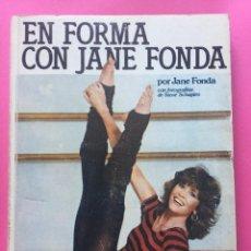 Libros: EN FORMA CON JANE FONDA. Lote 153596798