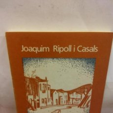 Libros: BJS.JOAQUIM RIPOLL.CARRER GRAN EL MEU PATI D´ESTRELLES.EDT, ALOC... Lote 155051094