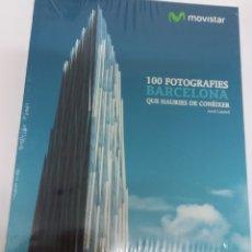 Libros: 100 FOTOGRAFIES DE BARCELONA QUE HAURIES DE CONEIXER. Lote 156382014