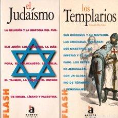 Libros: EL JUDAISMO Y LOS TEMPLARIOS (EDITORIAL ACENTO). Lote 156943658
