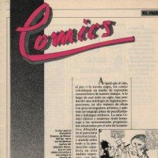 Libros: COMICS EL PAÍS, 25 FASCÍCULOS 400 PÁGINAS, HISTORIA DE ESTA EXPRESIÓN. Lote 158521134