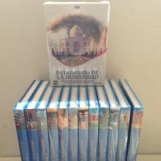 Libros: EL PATRIMONIO DE LA HUMANIDAD COLECCIÓN COMPLETA + DVD. Lote 159448508