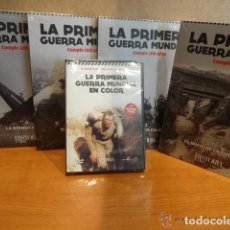 Libros: LA PRIMERA GUERRA MUNDIAL CUMPLE 100 AÑOS / 4 TOMOS + DOBLE DVD PRECINTADO / HISTORIA Y VIDA-2014.. Lote 160276542