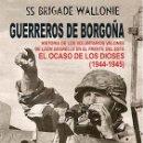Libros: GUERREROS DE BORGOÑA. EL OCASO DE LOS DIOSES: HISTORIA DE LOS VOLUNTARIOS VALONES DE LÉON DEGRELLE E. Lote 160320058