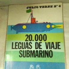 Libros: 20000 LEGUAS DE VIAJE SUBMARINO N°4. Lote 164521124