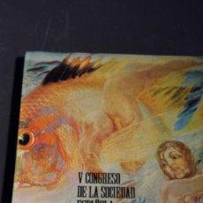 Libros: V CONGRESO DE LA SOCIEDAD ESPAÑOLA DE PATOLOGÍA RESPIRATORIO - LAS PALMAS 1972 (AUTOGRAFIADO). Lote 165650878