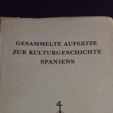 Libros: GESAMMELTE AUFSÄTZE ZUR KULTURGESCHICHTE SPANIENS - ALDEA, QUINTIN - BERCHEM, THEO. Lote 165697178