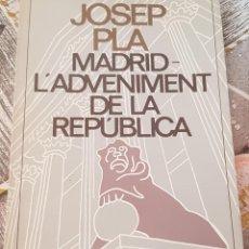 Libros: JOSEP PLA. Lote 165885896