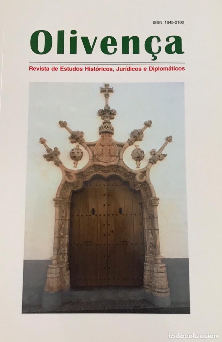 LIBRO OLIVENÇA. REVISTA DE ESTUDOS. OLIVENZA. LIBRO. HISTORIA. PORTUGAL. (Libros Nuevos - Historia - Otros)