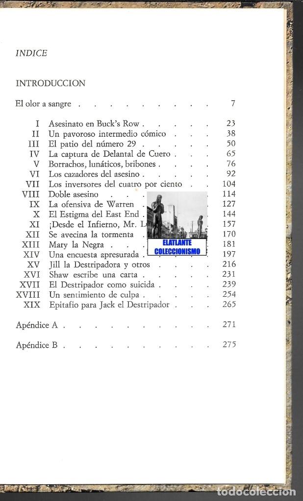 Libros: OTOÑO DE TERROR TOM CULLEN - EL MÁS EXTENSO Y DOCUMENTADO LIBRO SOBRE JACK EL DESTRIPADOR THE RIPPER - Foto 6 - 172728482