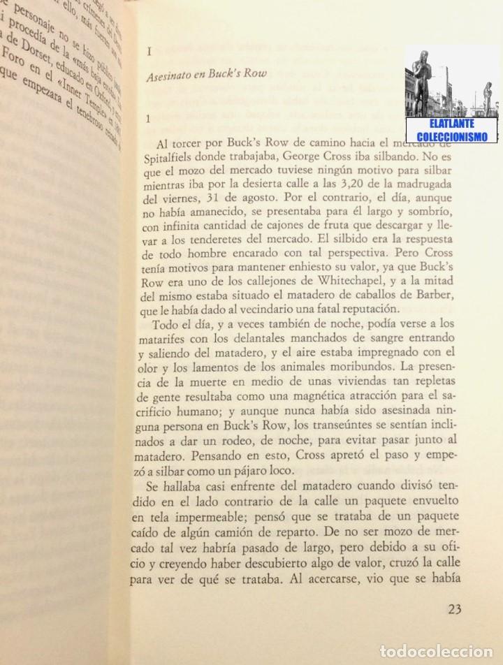 Libros: OTOÑO DE TERROR TOM CULLEN - EL MÁS EXTENSO Y DOCUMENTADO LIBRO SOBRE JACK EL DESTRIPADOR THE RIPPER - Foto 7 - 172728482