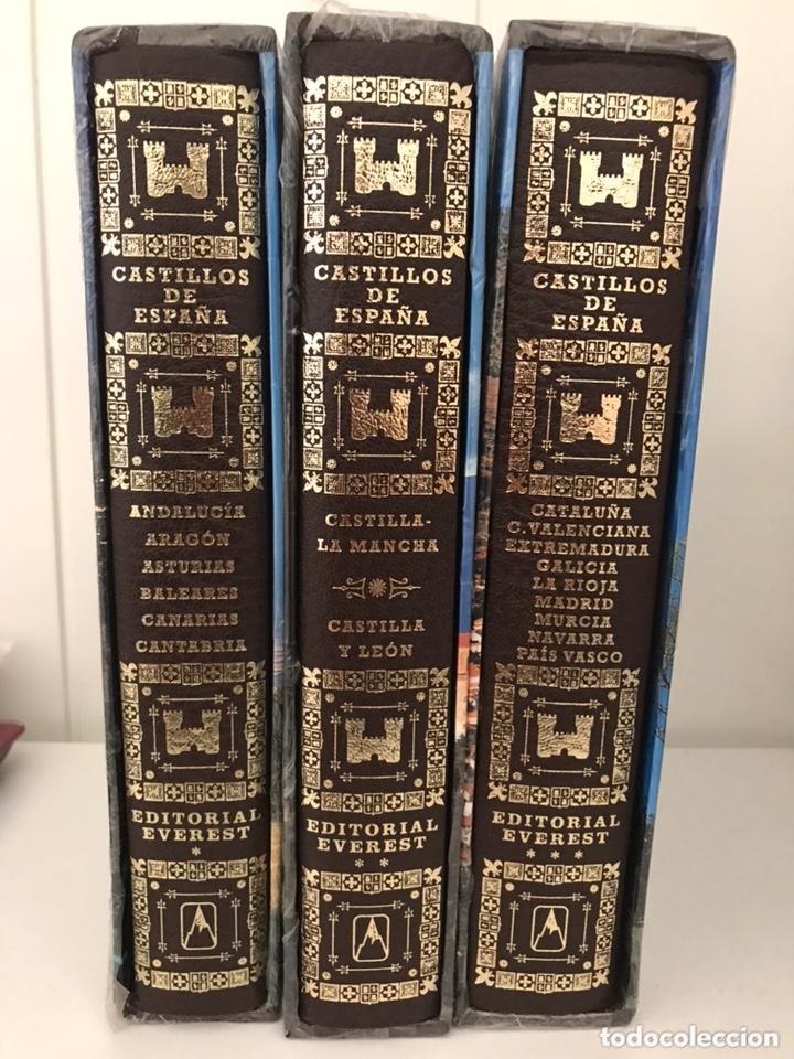 Libros: CASTILLOS DE ESPAÑA. 3 Tomos. Ed. Everest. 1997. - Foto 2 - 173465170
