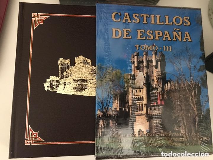 Libros: CASTILLOS DE ESPAÑA. 3 Tomos. Ed. Everest. 1997. - Foto 5 - 173465170