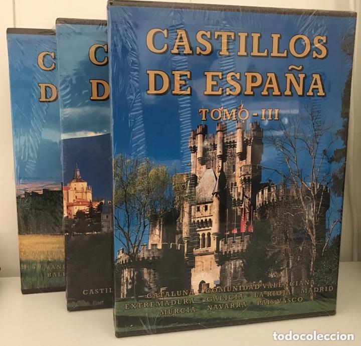 CASTILLOS DE ESPAÑA. 3 TOMOS. ED. EVEREST. 1997. (Libros Nuevos - Historia - Otros)