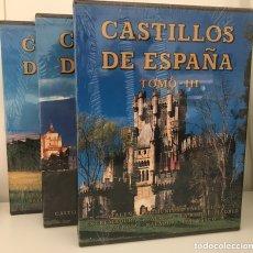 Libros: CASTILLOS DE ESPAÑA. 3 TOMOS. ED. EVEREST. 1997.. Lote 173465170