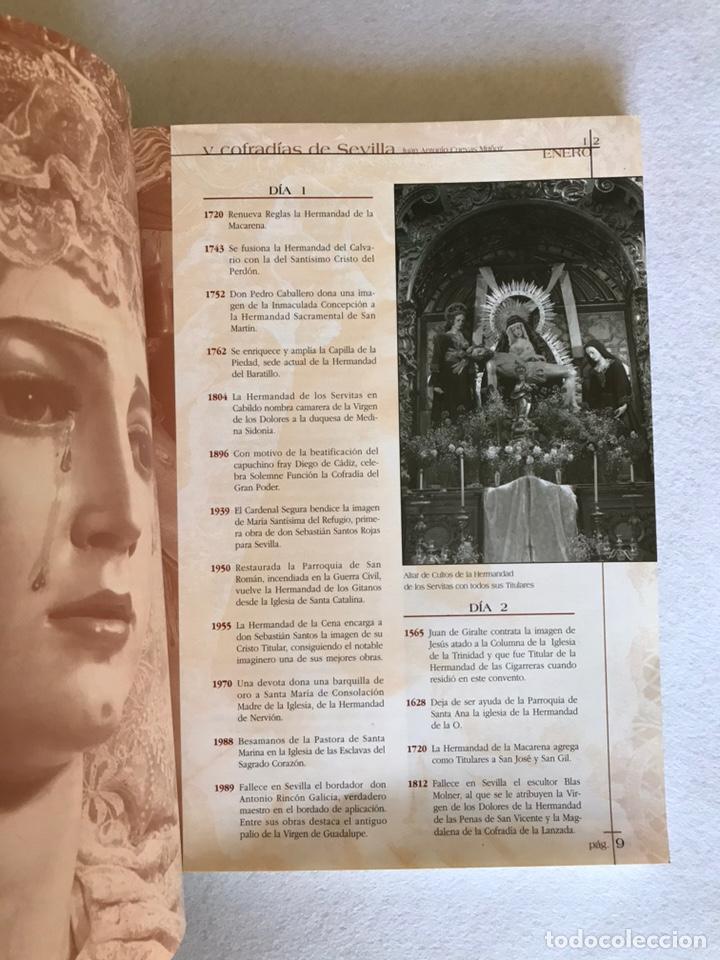 Libros: SEMANA SANTA SEVILLA. EFEMÉRIDES DE LAS HERMANDADES Y COFRADÍAS DE SEVILLA. Año 2002. - Foto 3 - 174386819