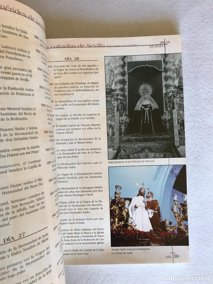 Libros: SEMANA SANTA SEVILLA. EFEMÉRIDES DE LAS HERMANDADES Y COFRADÍAS DE SEVILLA. Año 2002. - Foto 5 - 174386819