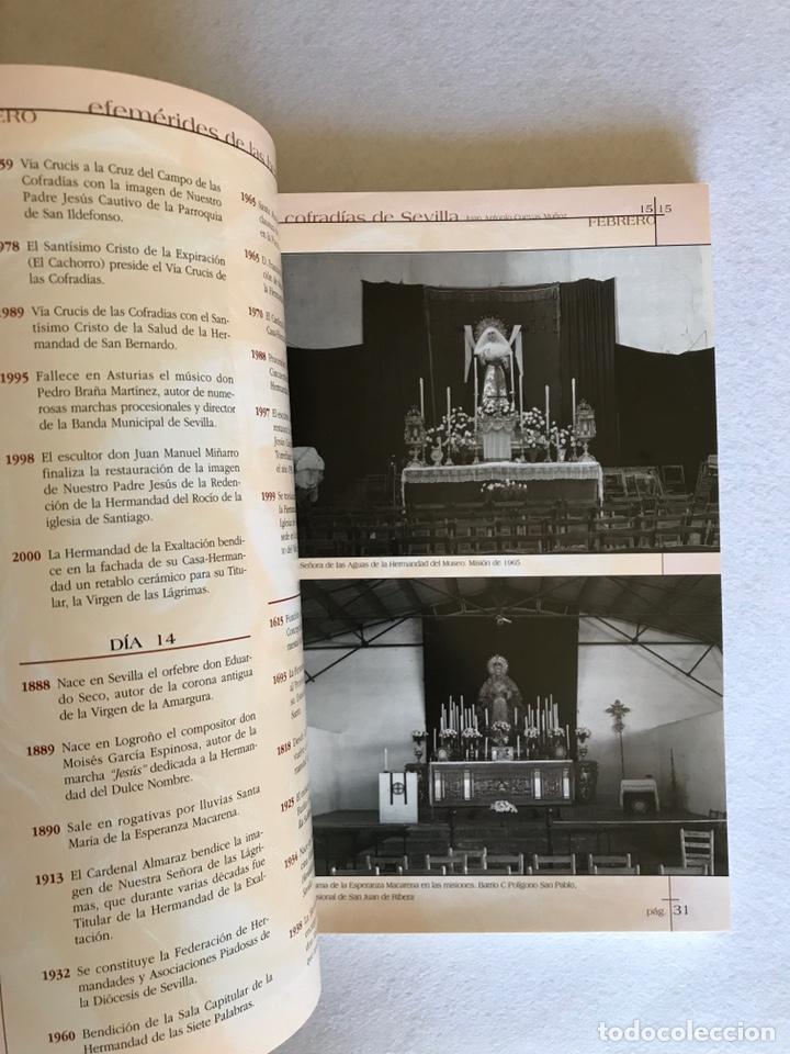Libros: SEMANA SANTA SEVILLA. EFEMÉRIDES DE LAS HERMANDADES Y COFRADÍAS DE SEVILLA. Año 2002. - Foto 6 - 174386819