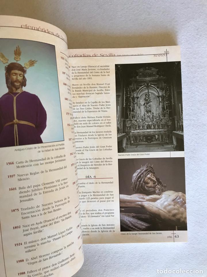 Libros: SEMANA SANTA SEVILLA. EFEMÉRIDES DE LAS HERMANDADES Y COFRADÍAS DE SEVILLA. Año 2002. - Foto 7 - 174386819