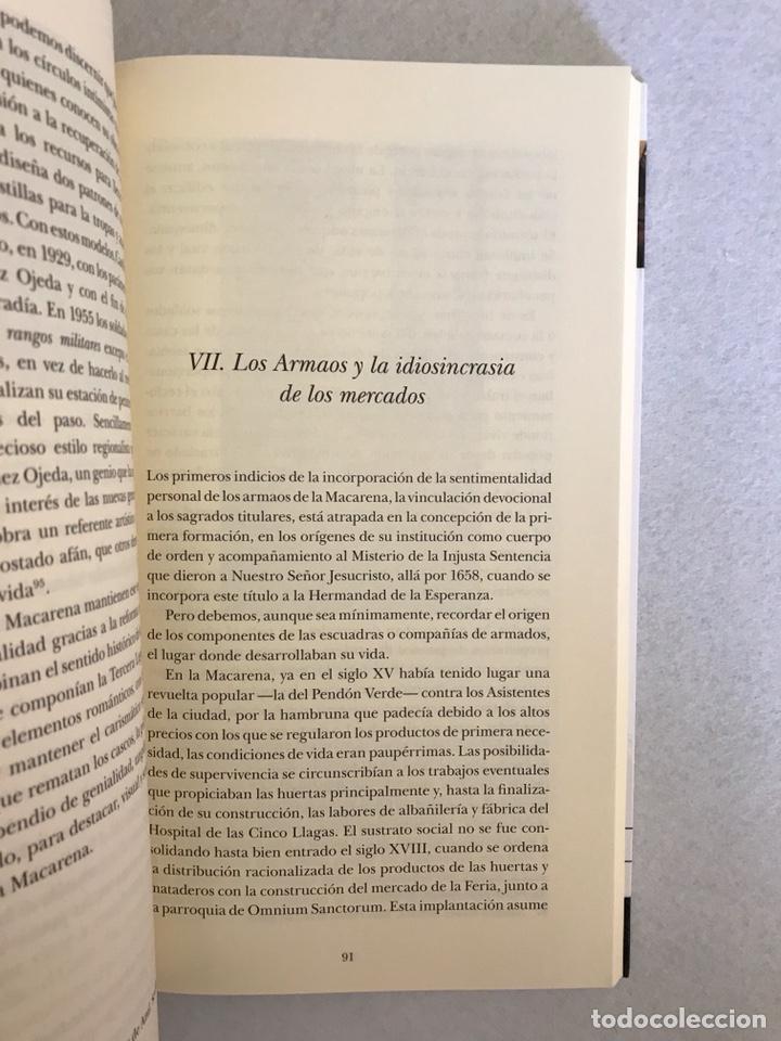 Libros: SEMANA SANTA SEVILLA. LA HISTORIA DE LOS ARMAOS DE LA CENTURIA MACARENA - Foto 5 - 174387498