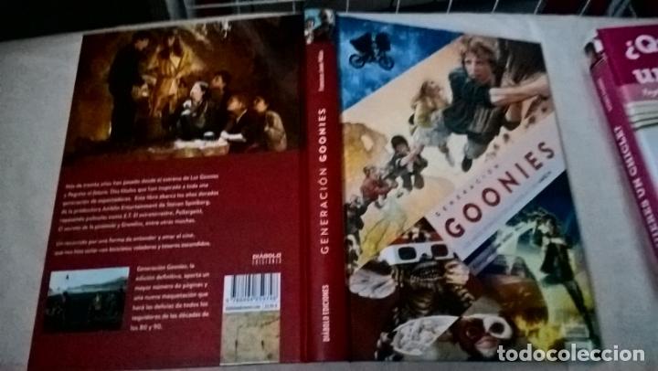 LIBRO DIABOLO: GENERACION GOONIES (Libros Nuevos - Historia - Otros)