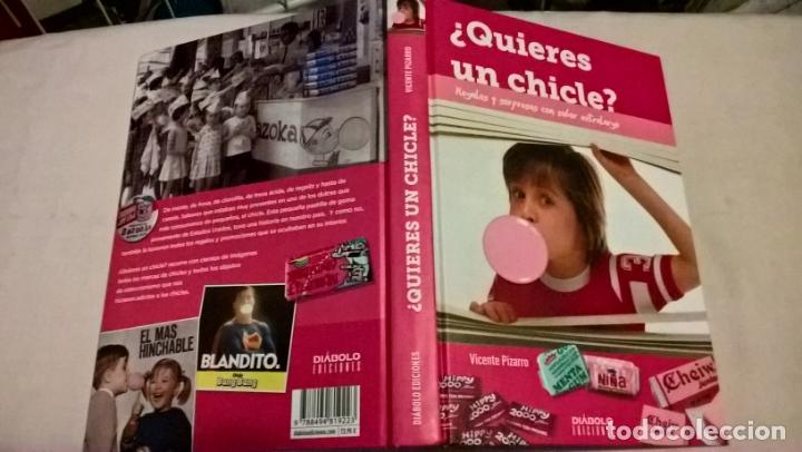 LIBRO DIABOLO: QUIERES UN CHICLE (Libros Nuevos - Historia - Otros)