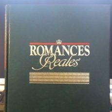Libros: VOLUMEN Nº 1 ROMANCES REALES. EDITORIAL PLANETA AGOSTINI. AÑO 1990. EN PERFECTO ESTADO. Lote 179235738