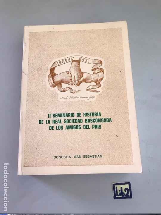 SEMINARIO DE HISTORIA DE LA REAL VASCONGADA (Libros Nuevos - Historia - Otros)