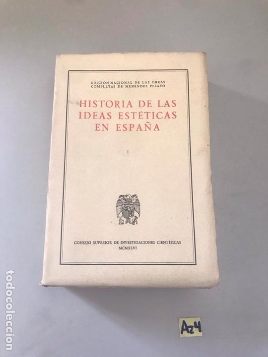 HISTORIA DE LAS IDEAS ESTÁTICAS EN ESPAÑA (Libros Nuevos - Historia - Otros)