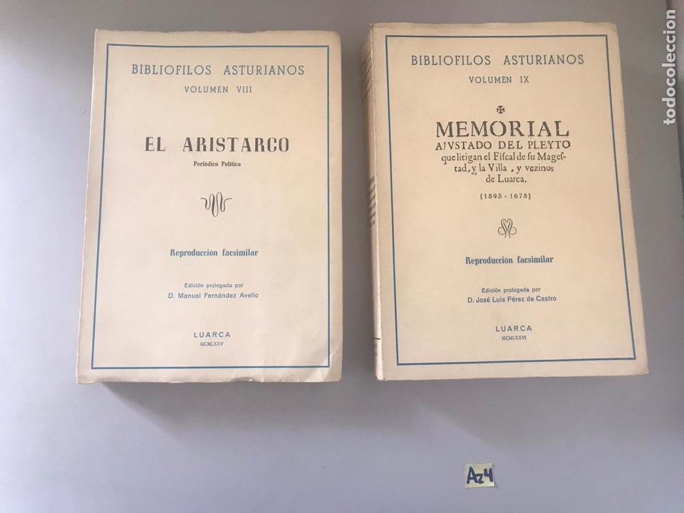 BIBLIÓFILOS ASTURIANOS 2 TOMOS (Libros Nuevos - Historia - Otros)