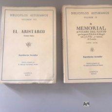 Libros: BIBLIÓFILOS ASTURIANOS 2 TOMOS. Lote 180205145