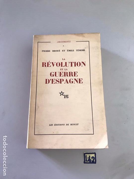 REVOLUCIÓN DE LA GUERRA DE ESPAÑA (Libros Nuevos - Historia - Otros)