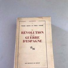 Libros: REVOLUCIÓN DE LA GUERRA DE ESPAÑA. Lote 180246053